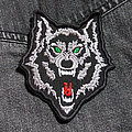 Wolf - Patch - WOLF 80X95 mm (embroidered patch)