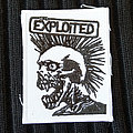 The Exploited - Patch - The EXPLOITED - Skeleton Logo 78x100 mm (embroidered)