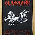 BLASPHEMY - Gods Of War (Backpatch)