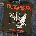 BLASPHEMY - Fallen Angel Of Doom 100x100 mm (woven)