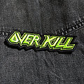 OVERKILL - Logo 125X35 mm (embroidered patch)