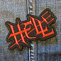 HELL 90X60 mm (embroidered)