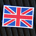 GREAT BRITAIN Flag 70X50 mm (embroidered)