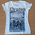 DRUDKH - Winter (White Girly T-Shirt)