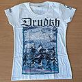 Drudkh - TShirt or Longsleeve - DRUDKH - Winter (White Girly T-Shirt)