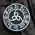 MADE IN HELL - Patch - MADE IN HELL 666 78mm (embroidered)