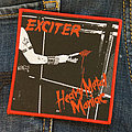 Exciter - Patch - EXCITER - Heavy Metal Maniac 100x105 mm (woven)