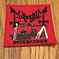 Mayhem - Patch - Mayhem - Limited Deathcrush Embroidered patch