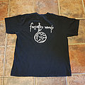 Forgotten Woods - Through the Woods - Rare 2007 Vintage Metal Shirt