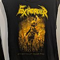 Exhorder - TShirt or Longsleeve - Exhorder Mourn The Southern Skies 2019 Tour Shirt