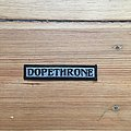 Small Dopethrone Name Patch