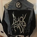 Battle Jacket in progress (Black and White, Fast and Slow)