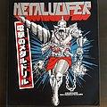 Metalucifer - Patch - Metalucifer back patch