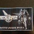 Metalucifer - Patch - Metalucifer - heavy metal drill mini-stripe