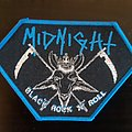 Midnight black rock n` roll patch