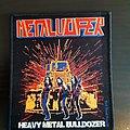 Metalucifer - Patch - Metalucifer - heavy metal bulldozer patch