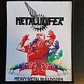 Metalucifer - heavy metal bulldozer patch