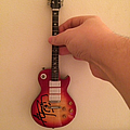 Ace Frehley Autographed Mini Guitar Other Collectable