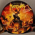 "Manowar - Metal Warriors Picture Disc 12"" Tape / Vinyl / CD / Recording etc"