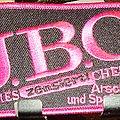 J.B.O. Arschloch und Spaß dabei Patch