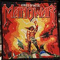 Manowar - Kings of Metal small woven Patch