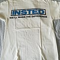 """Insted - TShirt or Longsleeve - Insted """"We'll make the difference"""""""
