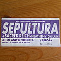Sepultura Arise tour 1991