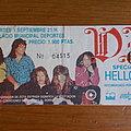 DIO, European tour 87