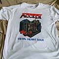 Accept, USA Tour 1985 shirt