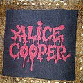 Vintage Alice Cooper patch