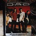 Original Simpatico tour poster 1998