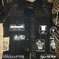 My late brothers crust vest Battle Jacket