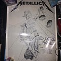 ...And Justice For All german tour poster 1988 Other Collectable