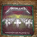 Vintage Master Of Puppets patch