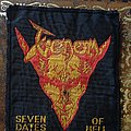 Vintage Seven Dates Of Hell patch