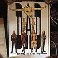 Original Riskin' It Live tour poster 1992