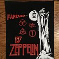 Led Zeppelin farewell backpatch