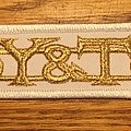 Y&T - Patch - Y&T gold/white patch