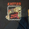 Exciter Violence and Force tour shirt 2019