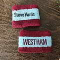 Steve Harris wrist bands Other Collectable