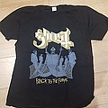 Ghost - Black to the Future European Tour 2015 TShirt or Longsleeve