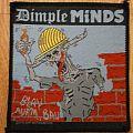 Patch - Dimple Minds - Blau auf`m Bau