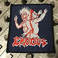 Vintage Bonded By Blood woven patch mint