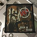 Vintage Reign In Blood woven patch - Mint