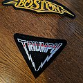 Hard rock band patches