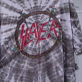 Slayer official tye dye t shirt Shortsleeve