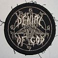 Patch - Denial of God - round logo Patch