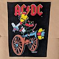 "AC/DC ""80s collage"" backpatch, Leidseplein/ Brockum"