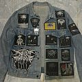 In the Shadow of the Horns Battle Jacket