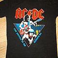 Acdc 1984 tour T shirt